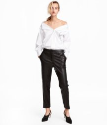 Faux Leather Pants, $34.99