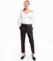 Faux Leather Pants, $34.99