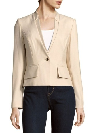 Solid Layered Jacket, $49.99