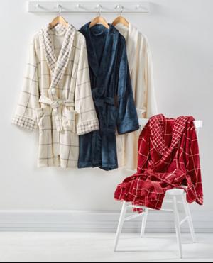Plush Bath Robe, Created for Macy's, $23.99