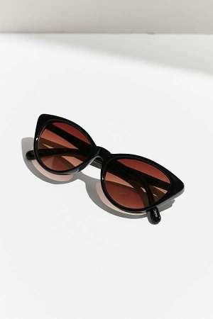 Slim Retro Cat-Eye Sunglasses, $16