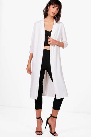 Evie Midi Kimono Duster, $16