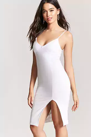 V-Neck Bodycon Dress, $14.90