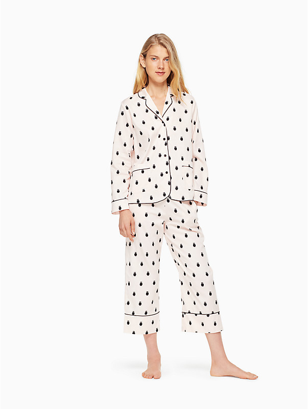 Cropped PJ Set, $74