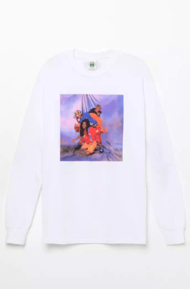 Cross Colours TLC Studio Long Sleeve T-Shirt, $25.19
