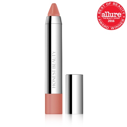 Honest Beauty Truly Kissable Lip Crayon, Sheer Chestnut Kiss, $18