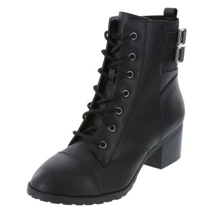 Women's Riot Combat Boots, $29.99