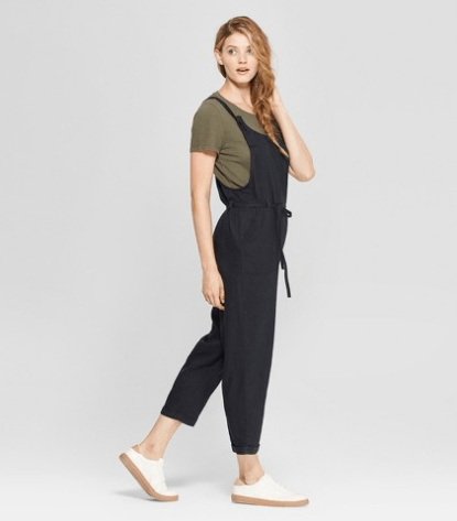 Women's Belted Overalls, $27.99