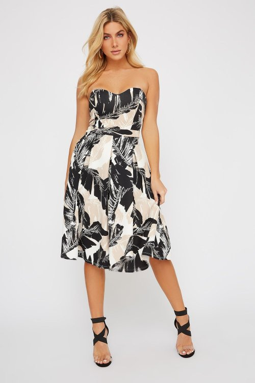 Sweetheart Skater Midi Dress, $20