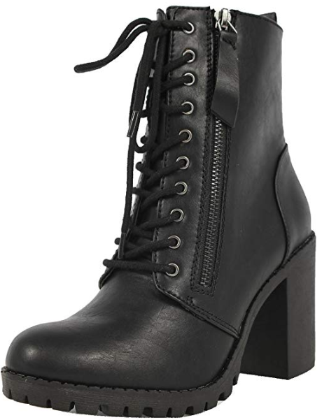 Soda Women's Malia Combat Boot, $27.13